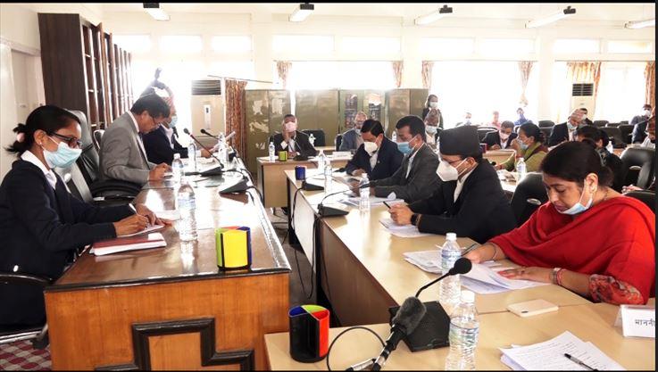 स्वास्थ्य उपकरण खरिदमा असम्बन्धित व्यक्तिलाई संलग्न गराइएको सार्वजनिक लेखा समिति सभापतिको आरोप