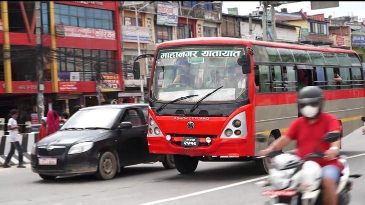 सार्वजनिक यातायात सञ्चालनमा आउन थाले