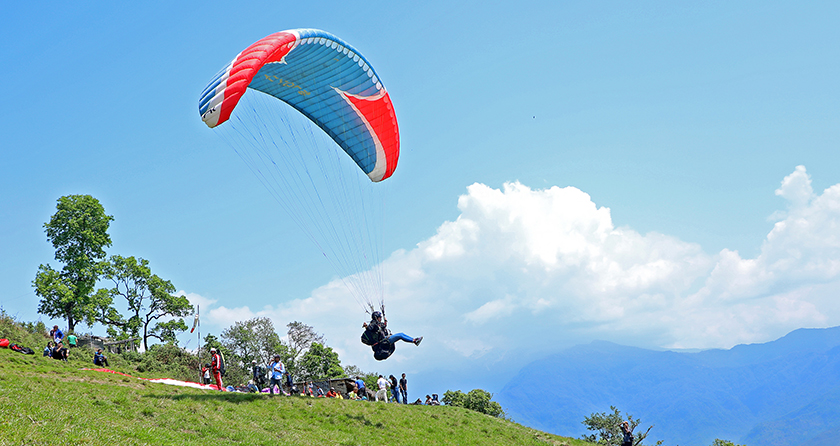 नेपालमा साहसिक खेलको प्रचुर सम्भावना
