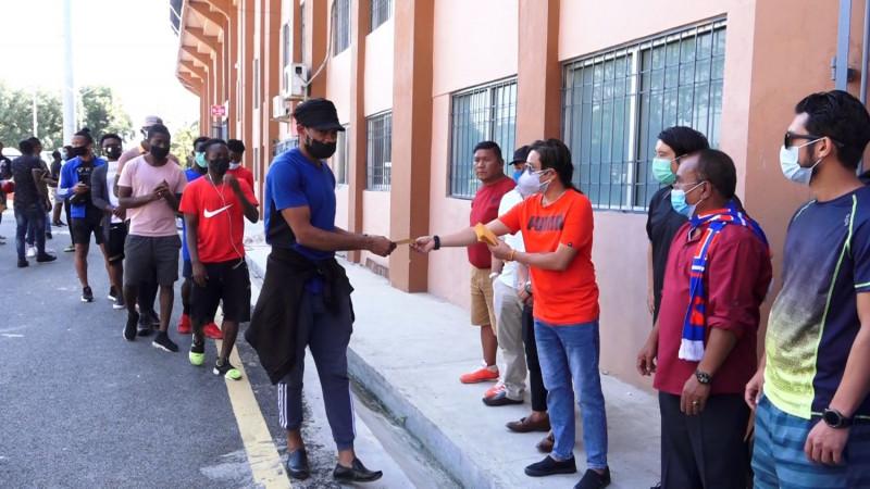 एन्फाको पहिलो ब्याचको अगुवाइमा विदेशी खेलाडीलाई सहयोग